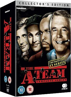 THE A-TEAM 1-5 1983-1987: COMPLETE Action TV Seasons Series - NEW R2 DVD not US