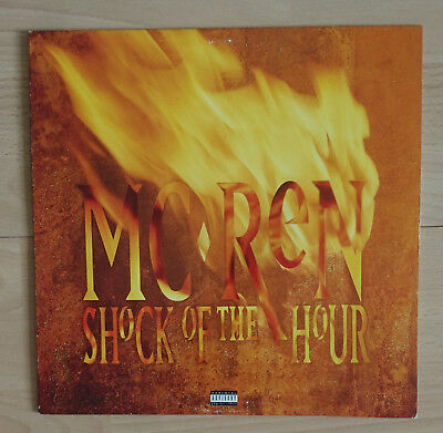 MC Ren - Shock Of The Hour (US Release, Ruthless Records / Relativity, 1993)