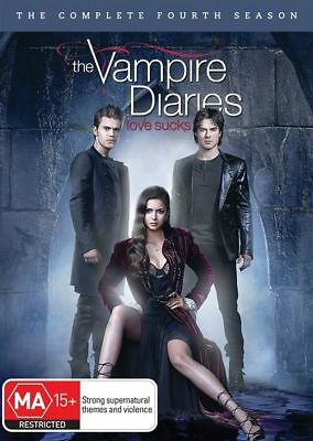 Vampire Diaries : Season 4 (DVD, 2013, 5-Disc Set) R4