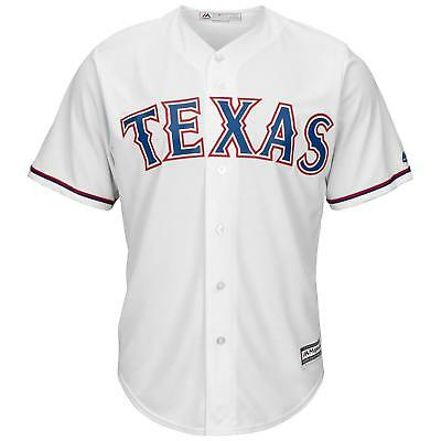 MLB Baseball Trikot Texas Rangers Home weiß Cool base Majestic Jersey