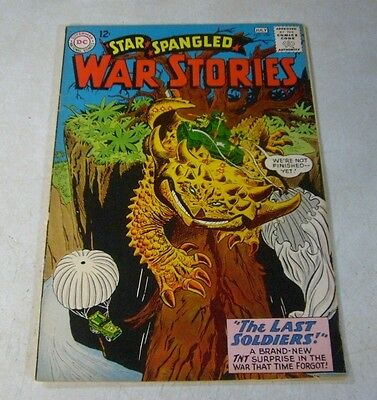 Star Spangled War Stories #109 Last Soldiers, Tnt, 1963, Awesome!!
