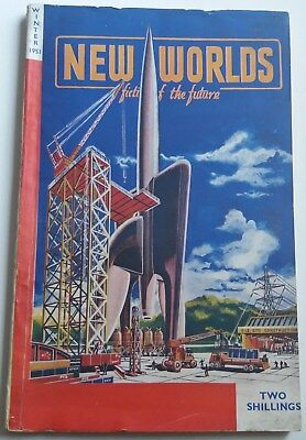 New Worlds No.12 - E.C.Tubb, Sydney Bounds etc 1951 - Vintage Pulp Digest