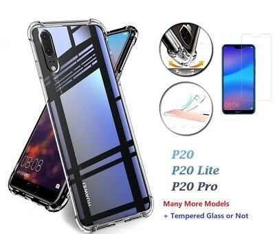 Shockproof 360° TPU Clear Case Cover For Huawei Mate 20 P20 Pro P20 Lite P Smart