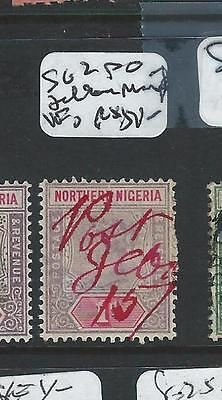 Northern Nigeria (P1907B) Qv 1D Sg2 Jebba Red Po Manuscript Vfu