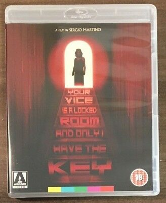 YOUR VICE IS A LOCKED ROOM.... (Blu-Ray) - Giallo - Arrow Video - Region Free