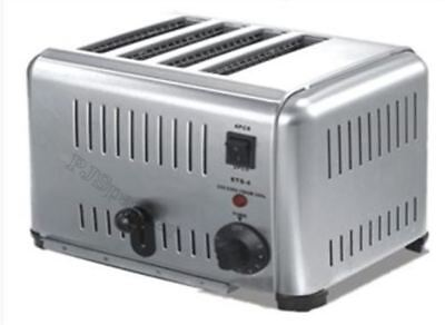 New Classic Stainless Steel 220V 4-Slice Toaster 4000W Small Kichen Appliance fc