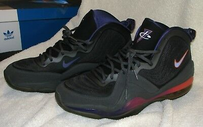 new products 47759 f4fb9 Nike Air Penny V 5 Phoenix Suns Arizona Sunset Grey Purple 12 Shoes  537331-070