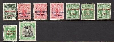 Pacific Islands - mint selection