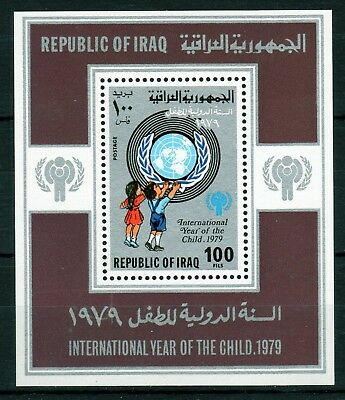 1979 Year of the Child Miniature Sheet Sc 930 Unmounted Mint. Cat $30.00