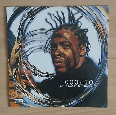 Coolio - It Takes A Thief (US / Kanada Release, Tommy Boy, 1994)