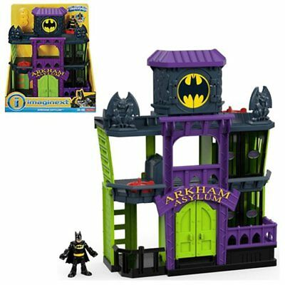 DC Super Friends Imaginext Arkham Asylum Playset-New in Box