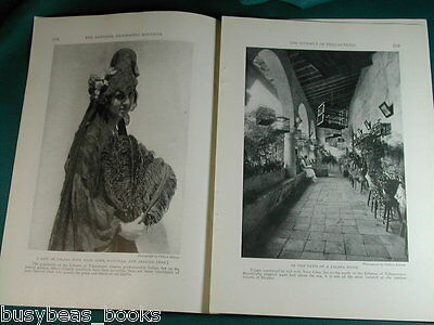 1924 magazine article on The Isthmus of Tehuantepec, Mexico, people, history etc