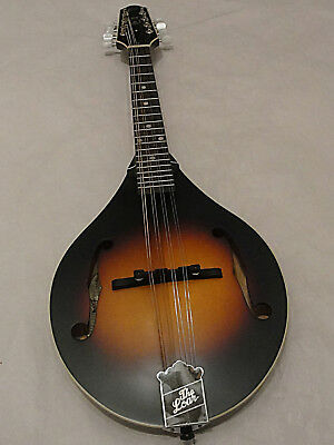 The Loar LM-175 Grassroots Series A-Style Mandolin Solid Hand Carved Top Satin T