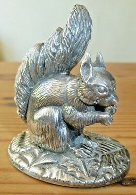 Sterling Silver Squirrel 925