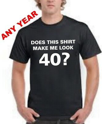 40th Birthday T Shirt Gift For Him Fathers Day 40 Years