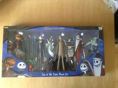 NECA Nightmare Before Christmas Jack Of All Trades Boxed Set
