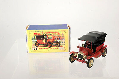 A Lesney Product, Y-1 Models of Yesteryear Model T Ford 1911 New Model mit OVP