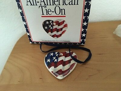 Longaberger All-American Tie-on MIB