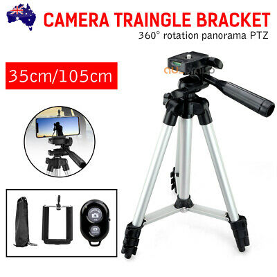Adjustable Camera Tripod Mount Stand Holder for iPhone Samsung Mobile Phone AU