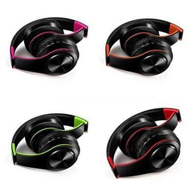 4in1 Wireless Bluetooth Stereo Bass Headset Headphone Earphone MIC MP3/FM/TF/SD