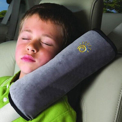Cushion Shoulder Harness Sleep Pillow Dampen Kids Car Safety Seat Belt Cover