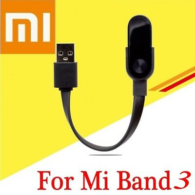 For Xiaomi Mi Band 3 Smart Watch Replacement USB Charging Cable Charger Cord