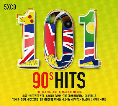 Various Artists : 101 90s Hits CD (2017) ***NEW***