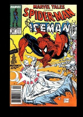 Marvel Tales Featuring Spider-Man And Iceman Us Marvel Comic Vol.1 # 227/'89