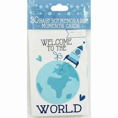 30 Baby Boy Memorable Moments Cards, Gifts by Occasion, Brand New