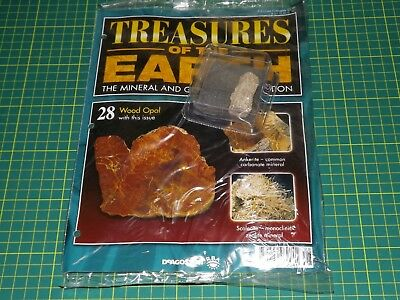 Treasures of the Earth magazine - DeAGOSTINI - choose one issue  - NEW SEALED