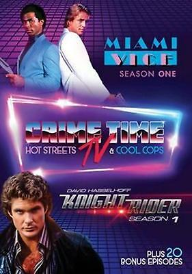 Crime Time Tv:miami Vice and Knight R - DVD Region 1 Free Shipping!
