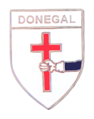 Ireland Donegal Crest Pin Badge