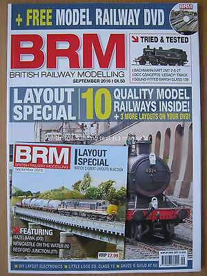 British Railway Modelling September 2016 Layout Special Bachmann DCC & DVD