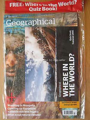 Geographical July 2016 Iceland Pamplona Mongolia German green energy