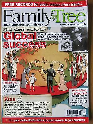 Family Tree January 2016 Genealogy History Ancestry Old Place Names Tracing