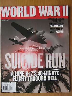 World War II 2 magazine September October 2016 B-17 Guadalcanal BM-13 Katyusha