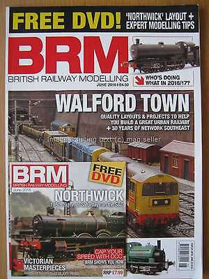 British Railway Modelling June 2016 Walford Town Northwick layout Rockvilla