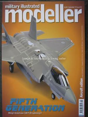 Military Illustrated Modeller September 2017 Meng 1:48 Lightning II F-35