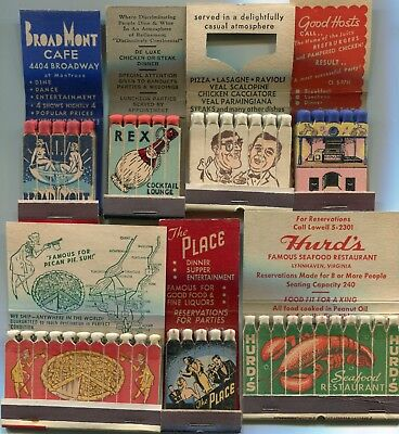 50 Complete Feature Matchbooks - Features