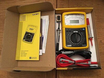 Chauvin Arnoux C.A. 5011 Analogue Multimeter