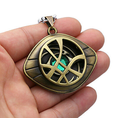 Dr Doctor Strange Eye of Agamotto Necklace Pendants Cosplay prop 2 coors