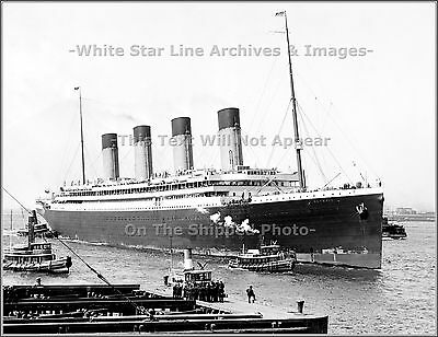 Photo: Awesome View: RMS Olympic's 1st Trip To NYC, June, 1911