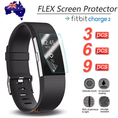 3x/6x/9x For Fitbit Charge 2 Compact TPU Hardness LCD Screen Protector Real Film