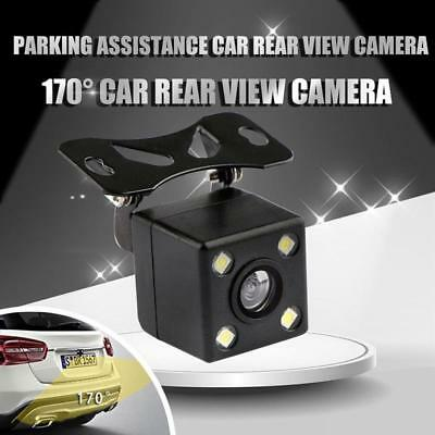 Car Rear View Camera 170 Degrees CCD LED Backup Parking Assistance Night Vision