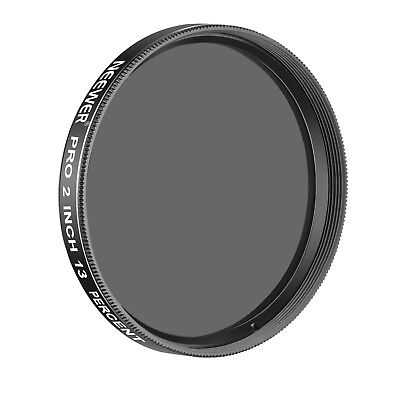 Neewer Pro 2 inches 13 Percent Transmission Neutral Density Moon Filter Black
