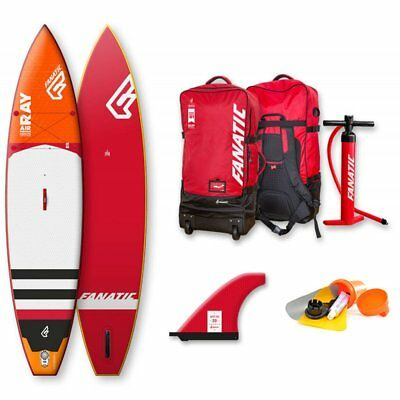 """Fanatic Ray Air Premium 11'6"""" Inflatable SUP 2018 Touring Stand Up Paddle Board"""
