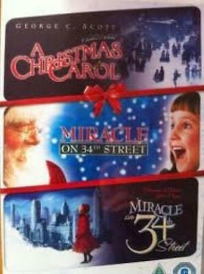 A Christmas Carol / Miracle On 34th Stre DVD