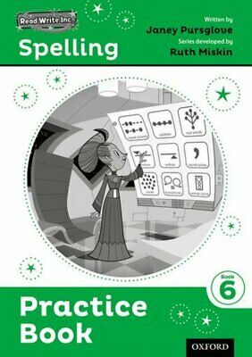 Read Write Inc. Spelling: Practice Book 6 Pack of 30 by Ruth Miskin (Book)
