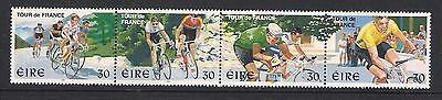 Ireland Eire mint stamps - 1998 Tour de France in Ireland, SG1177/1180, MNH