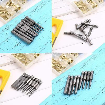 8pcs/Set 50mm Magnetic Hex Head Screw Driver Screwdriver Bit Set Kit N98B